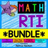 Math RTI / Math Intervention - BUNDLE - Distance Learning