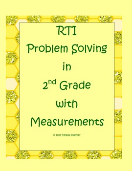 Math RTI Problem Solving in 2nd Grade Pack 3
