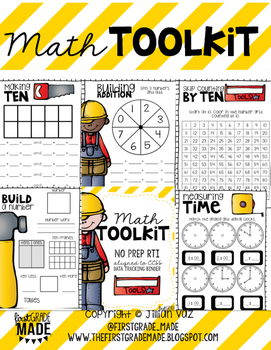 Math Workshop Centers and RTI Toolkit