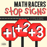 Math Racers Stop Signs