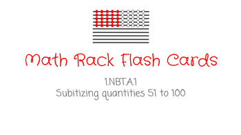 Math Rack Flash Cards