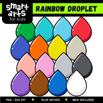 Math Rainbow Clipart Bundle