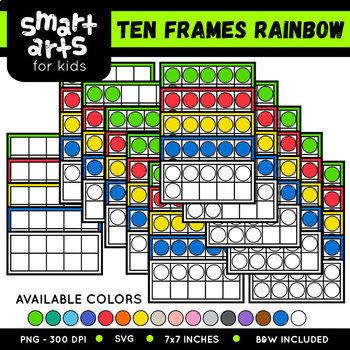 Math Rainbow Clipart Bundle 2