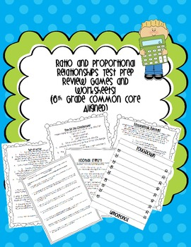 Math Ratio Review. Games, Worksheets, and Activities {Comm