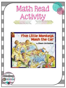 Math Read Activity-5 Little Monkeys