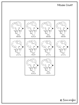 Math Read Activity-Mouse Count