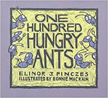 Math Read Aloud: One Hundred Hungry Ants Division Models