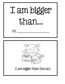 Math Reader - I Am Bigger Than...