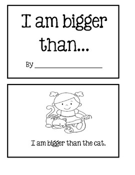 Math Reader - I Am Bigger Than...