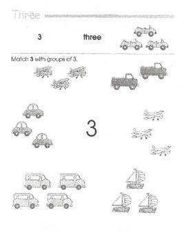 Math Readiness - PreK-1