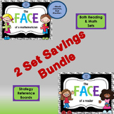 Math & Reading Strategy Poster Sets- Bundled