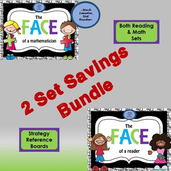 Math & Reading Strategy Poster Sets- Bundled