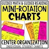Math & Reading Center Rotation Charts