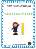 Math Reading Passages: Inches, Feet, and Yards **Freebie**