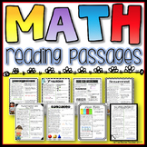 Math Reading Passages for Grades 3-5