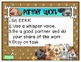 Math & Reading Work Station Procedure Posters & Pocket Chart Cards - Dog Theme