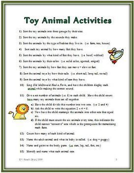 Math, Reading and Writing - 51 Hands-On Activities that Use Small Toys