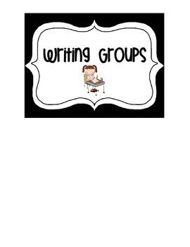 Math, Reading and Writing Group Display