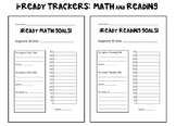 Math & Reading i-Ready Data Trackers (separate pages)
