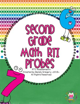 RTI : Math Reasoning Probes for Second Grade