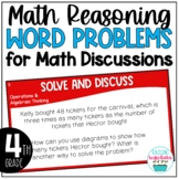 Math Reasoning Word Problems for Discussions Arguments
