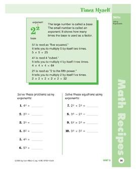 Math Recipes