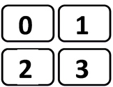 Math Recovery Structuring to 5 Cards - Memory, Go Fish (B&W)