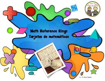"Math Reference Rings ""Tarjetas de Matemáticas"""
