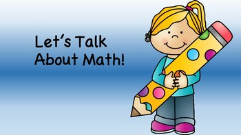 #BTSBlackFriday Let's Talk about Math - reflection prompt for class discussion