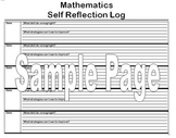 Math Reflection Log