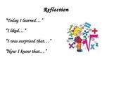 Math Reflection Poster