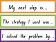 Math Reflection Sentence Starters