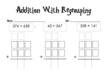 Math Regrouping & Borrowing Made Easy Lesson Pack!