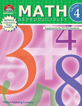 Math Reproducibles - Grade 4