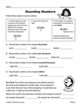 Math Reproducibles - Grade 5