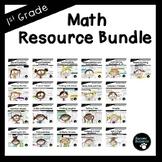 First Grade Math Bundle (Standards-Aligned)