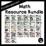 Math Resource Bundle (Kindergarten, Standards-Aligned)