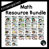 Math Resource Bundle (Kindergarten, Standards-Aligned)
