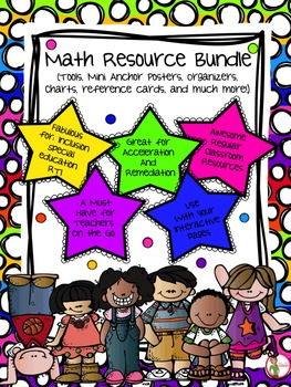 Math Resource Bundle - Manipulatives / Tools / Reference C