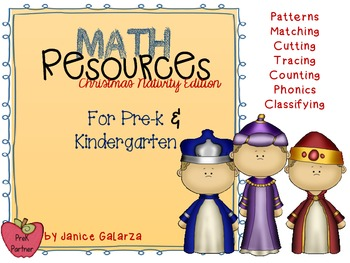 Math Resource Christmas Nativity edition