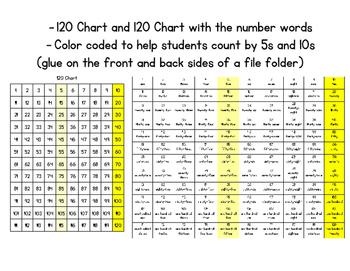 Math Resource Folders - Bilingual English and Spanish