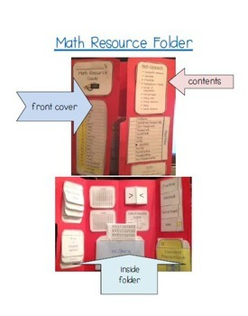 Math Resource Folder - Prime, Composite, Whole Numbers, Percentages and More
