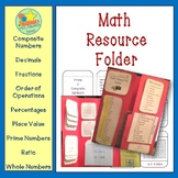Math Resource - Prime, Composite, Whole Numbers, Percentages and More