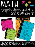 Math Resource Guide for Upper Elementary! (5th & 6th)