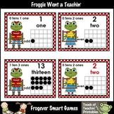 "Number Wall Posters/Headers--Numbers Sense ""Hoppy"" School"