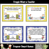 """ I Can"" Statements Kindergarten Common Core Math"