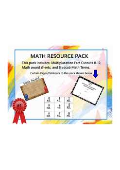 Math Resource Pack 1