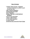 Math Resource Packet for Kindergarten