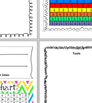 Math Resource Pages