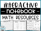 Math Resource Pages for Interactive Notebook